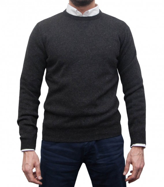 Knitwear Roma Mixed wool Dark Grey