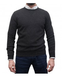 Knitwear Roma wool Nylon Dark Grey