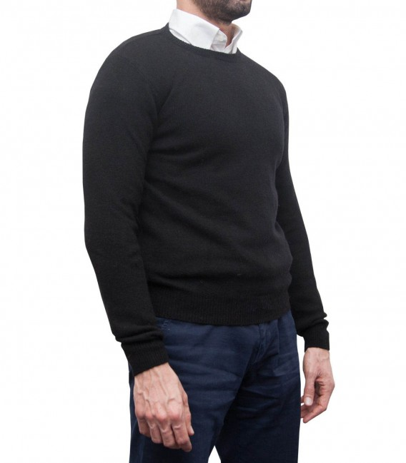 Knitwear Roma Mixed wool Black