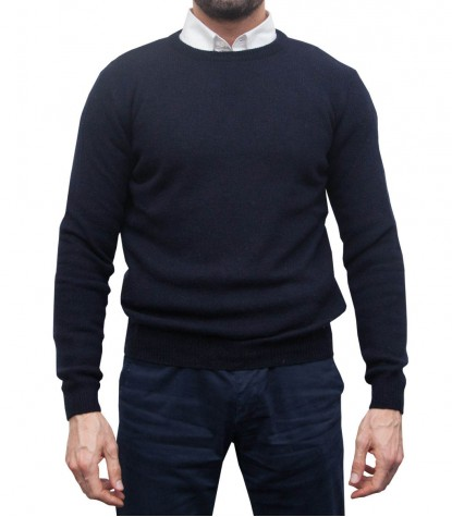 Knitwear Roma Mixed wool Blu
