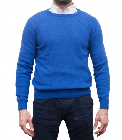Knitwear Roma Mixed wool Bluette