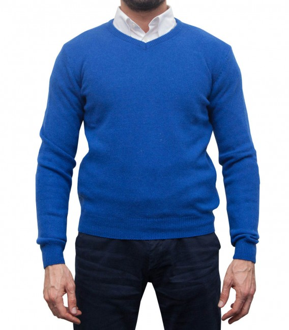 Knitwear Roma wool Nylon Bluette