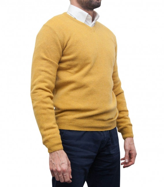 Knitwear Roma Ocher Yellow
