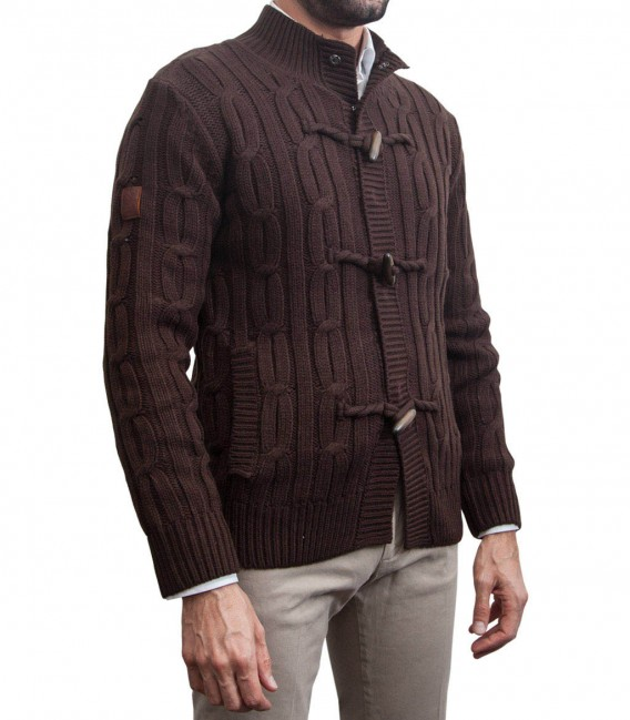 Cardigan Roma brown