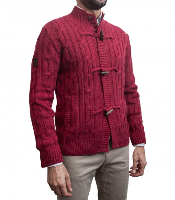 Cardigan Roma Bordeaux