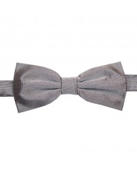 Bow Tie Roma Silk Light Grey