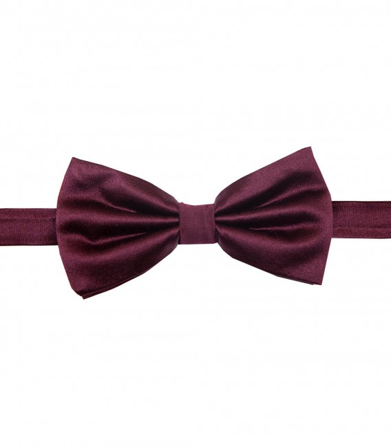 Bow Tie Roma Silk Red Bordeaux