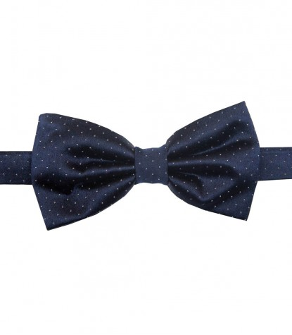 Bow Tie Roma Blue White