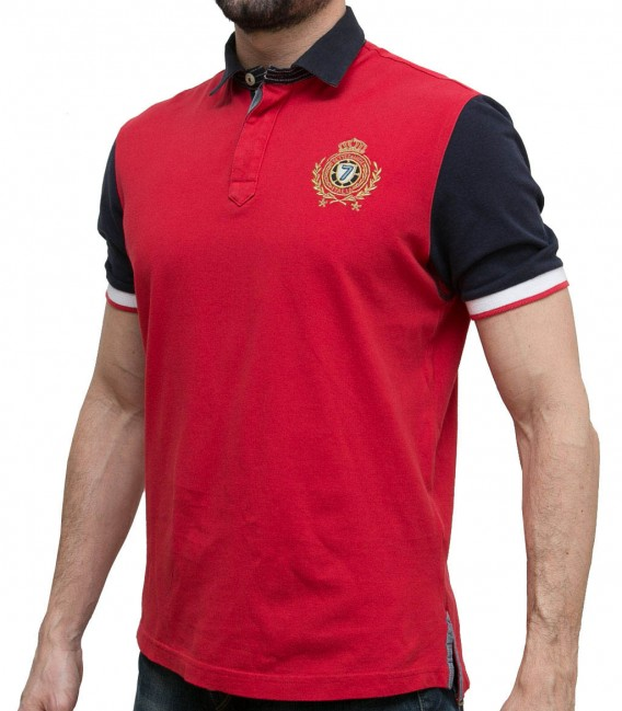 POLO CAPRI RED BLUE