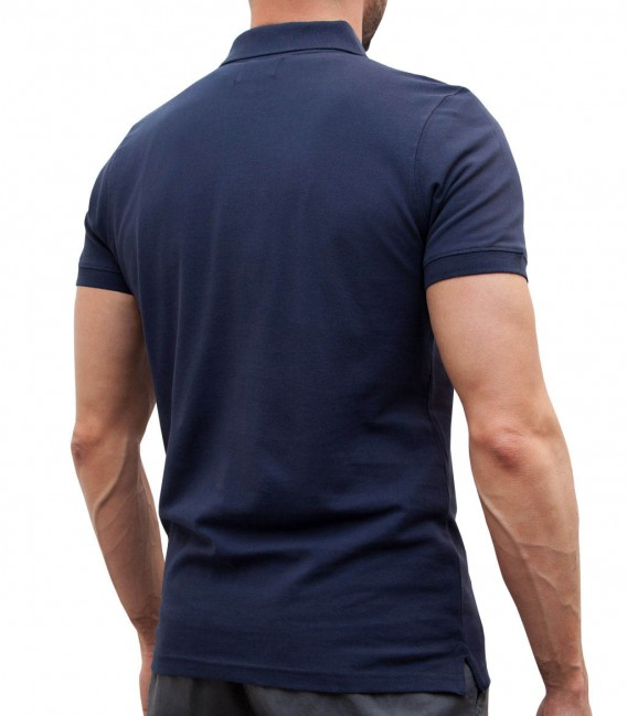 BLUE POLO FOR MEN IN PIQUé TISSUE