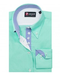 Shirt Silvia poplin Water Green