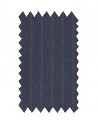 Chemises Leonardo Satin Bleu marron