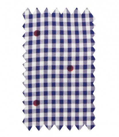 Shirt Leonardo Oxford BlueBordeaux