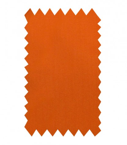 Chemises Marco Polo popeline fixe Orange