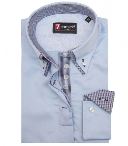 Shirt Elena Light Blue