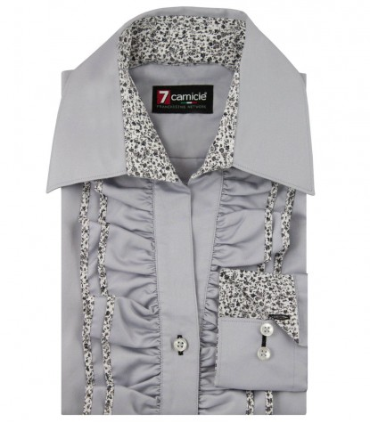 Shirt Venezia Light Grey