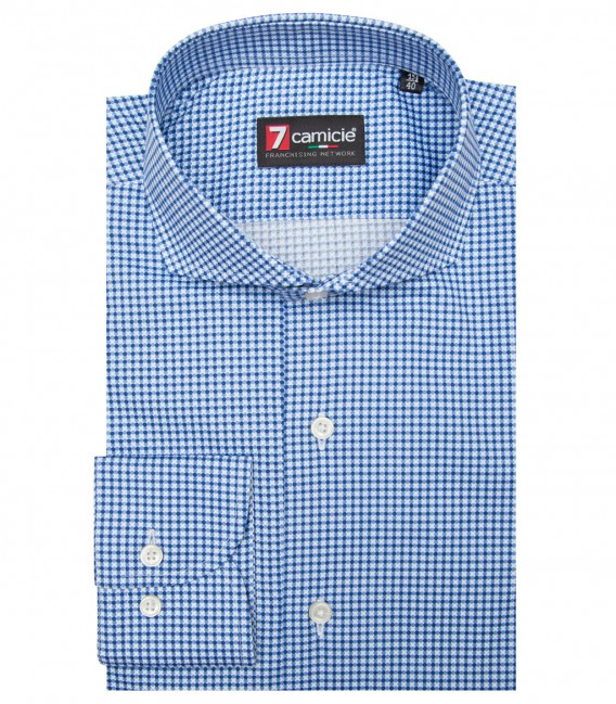 Shirt Napoli Cotton BlueBluette