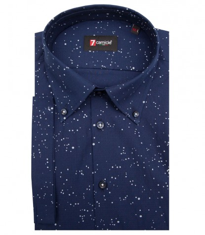 Shirt Leonardo Cotton BlueLite Blue