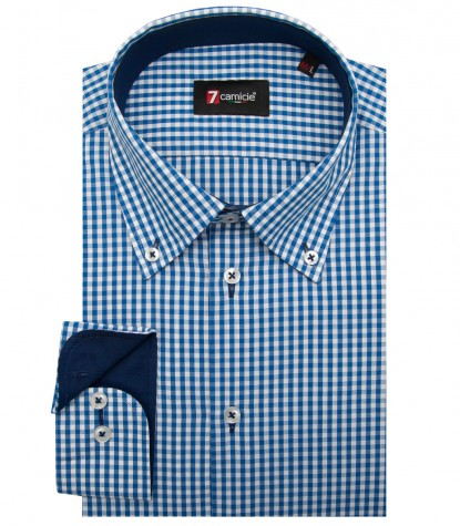 Shirt Leonardo Cotton White Bluette