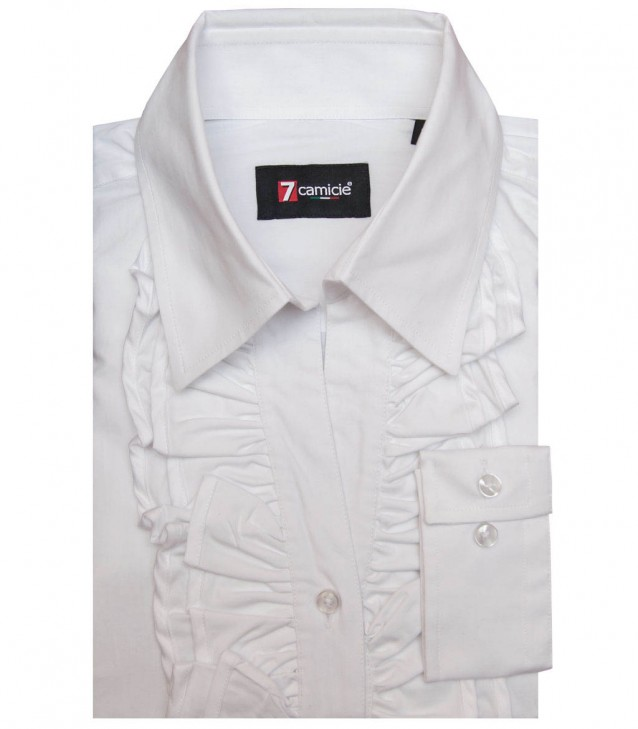 Shirt Venezia stretch poplin White