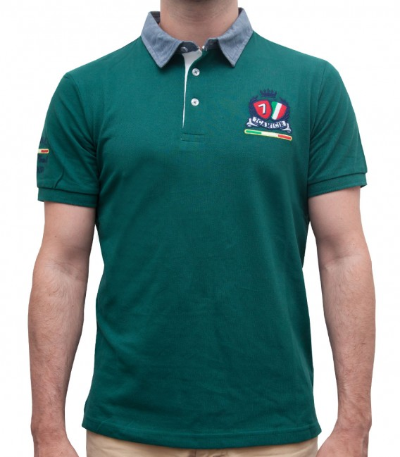 Polo Capri Piquet Dark Green