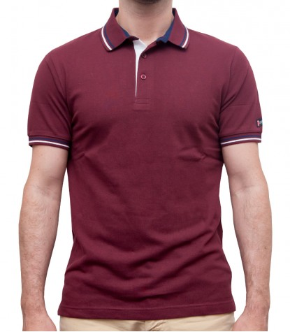 Polo Capri Piquet Red Bordeaux