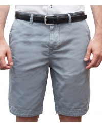 Bermuda shorts cotton plain colour light blue