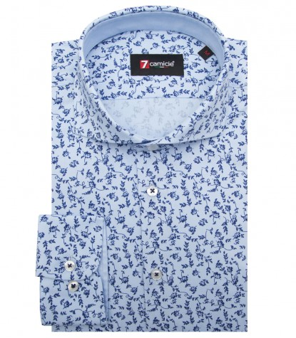 Shirt Napoli Oxford Light BlueBlue