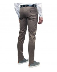 trousers Roma twill Off White