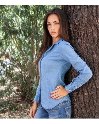 Shirt Sofia Jeans Light Blue