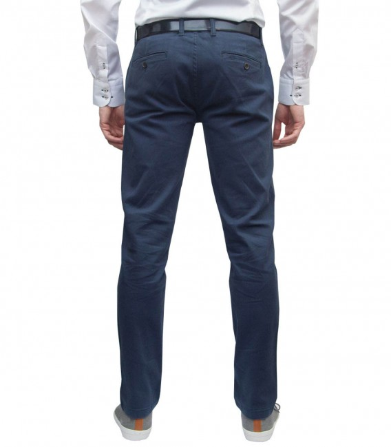 Trousers Night Blue