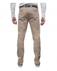 Casual Trousers Ischia Off White