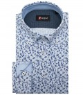 Shirt Roma Oxford WhiteLite Blue