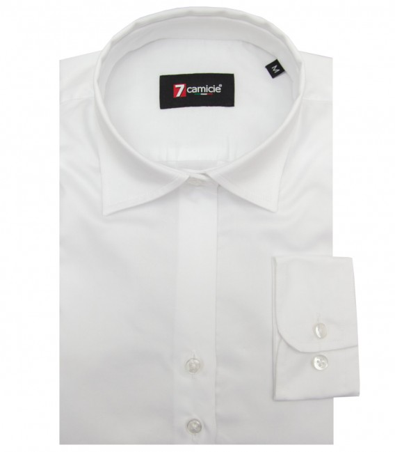 Shirt Giulietta Satin White
