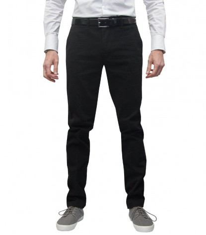 trousers Ischia cotton gabardine Black