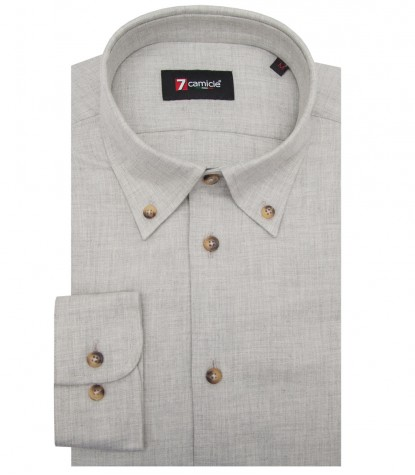 Shirt Leonardo Flannel Light Blue