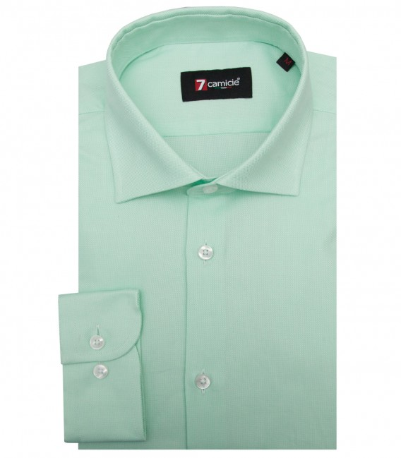 Shirt Firenze Honeycomb fabric Green