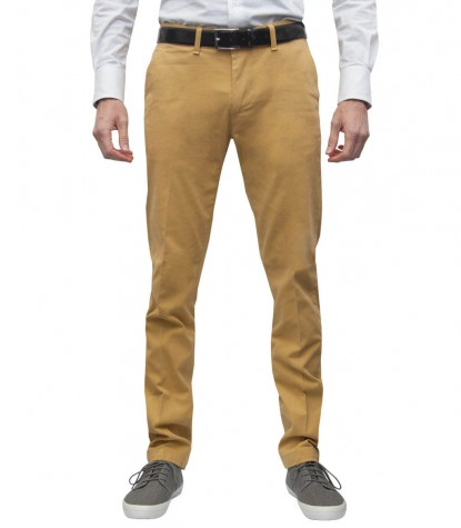 Casual Trousers Ischia Mustard