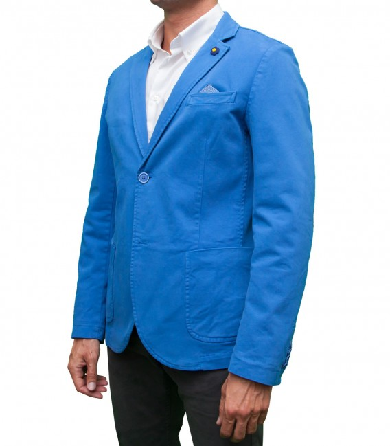 Chaqueta Azul Royal