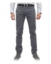 Pantalons Ischia Coton Medium Grey