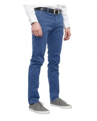 Trousers Ischia Cotton Light Blue