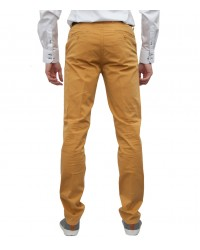Trousers Ischia Cotton Mustard