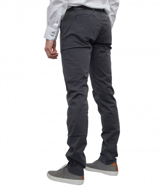 Trousers Ischia Cotton Grey