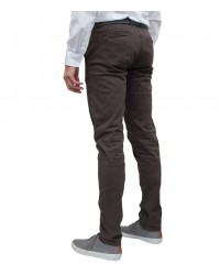 Trousers Ischia Cotton Brown