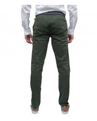 Trousers Ischia Cotton Military Green