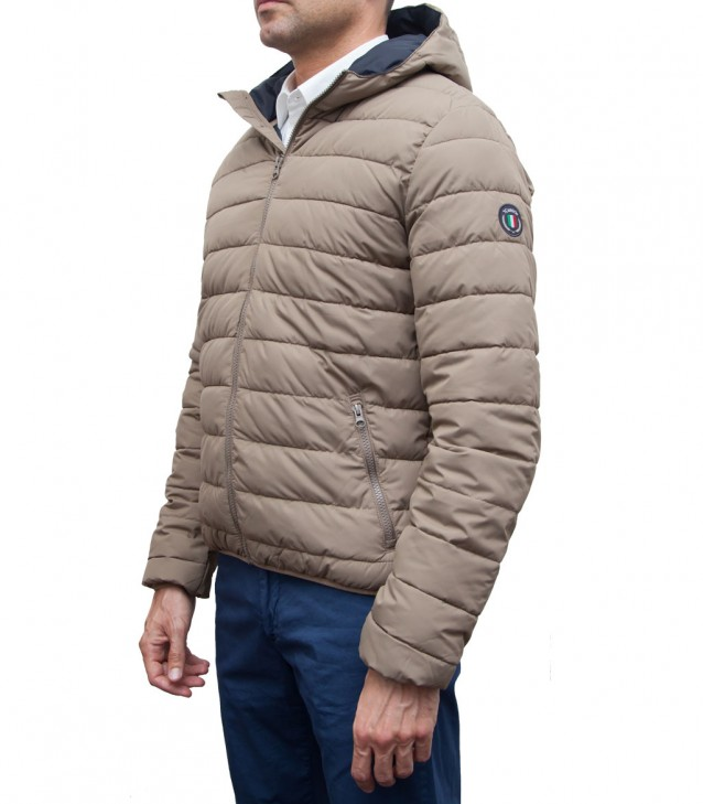 Down-Jacket Firenze Mud