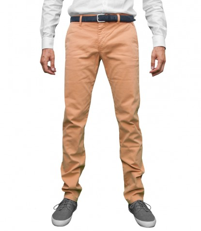 Trousers Capri Cotton Orange