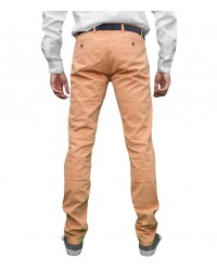 Hosen Capri Baumwoll Orange