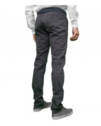 Pantalons Capri Coton Medium Grey