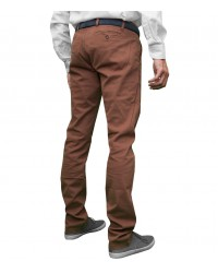 Trousers Capri Cotton Mustard